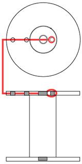 Drive Pinhole Diameter